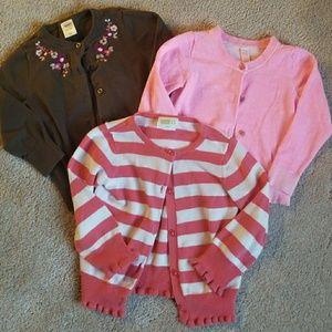 Cherokee Shirts & Tops - ❤️ Girls 4t Cardigan Bundle ❤️